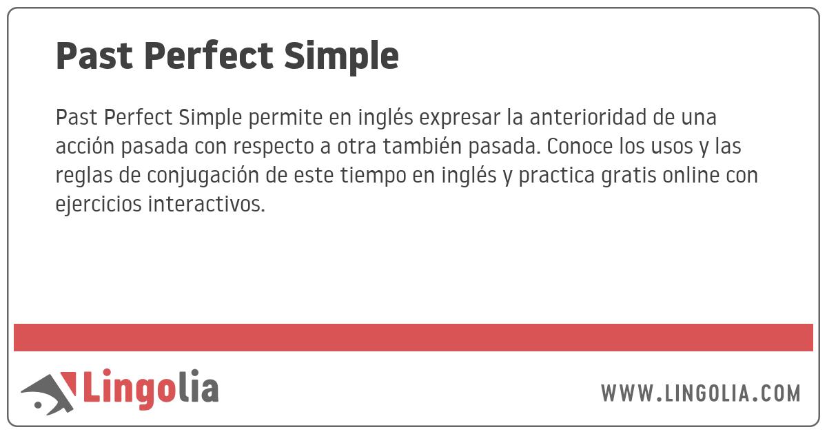 Estructura Gramatical Del Pasado Perfecto En Ingles - 2020 ...